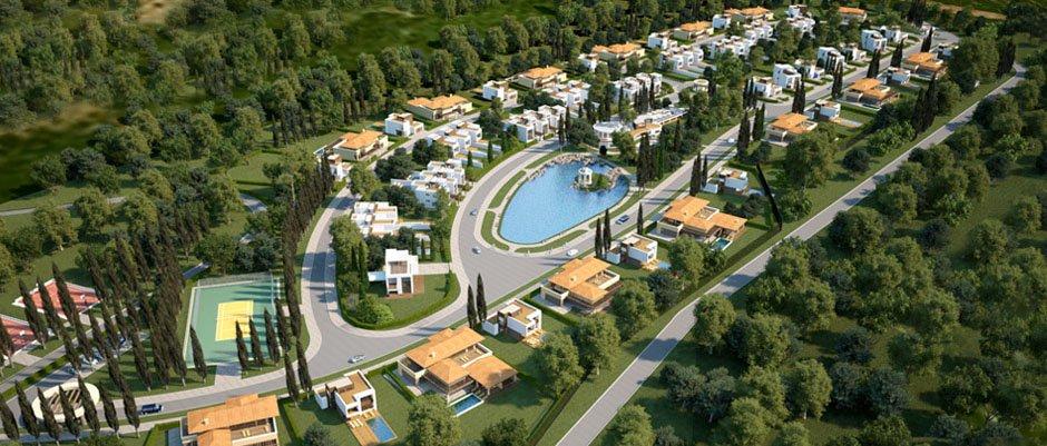 проект поселка Крым, архитектурный проект