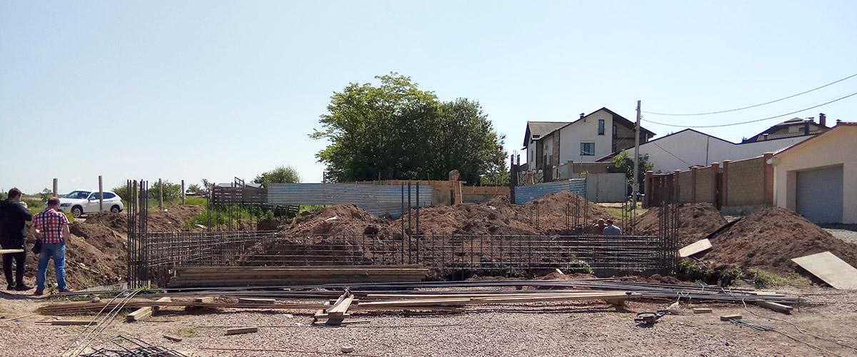 Строительство жилого дома в Крыму