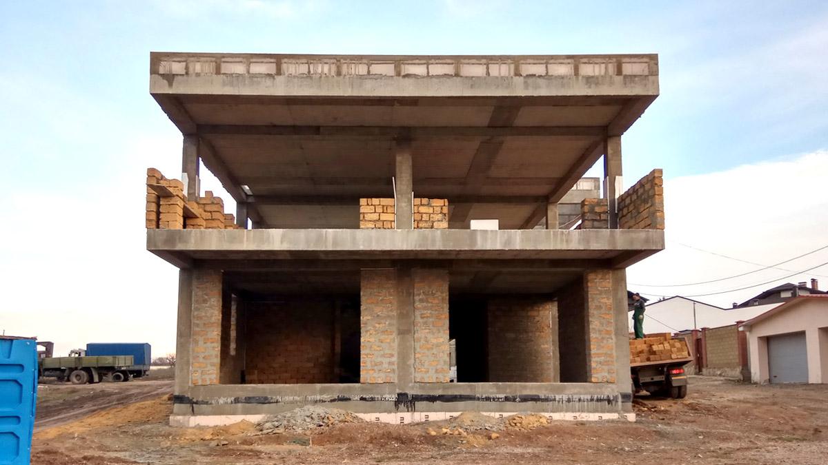 Проектирование и строительство дома в современном стиле в Симферополе