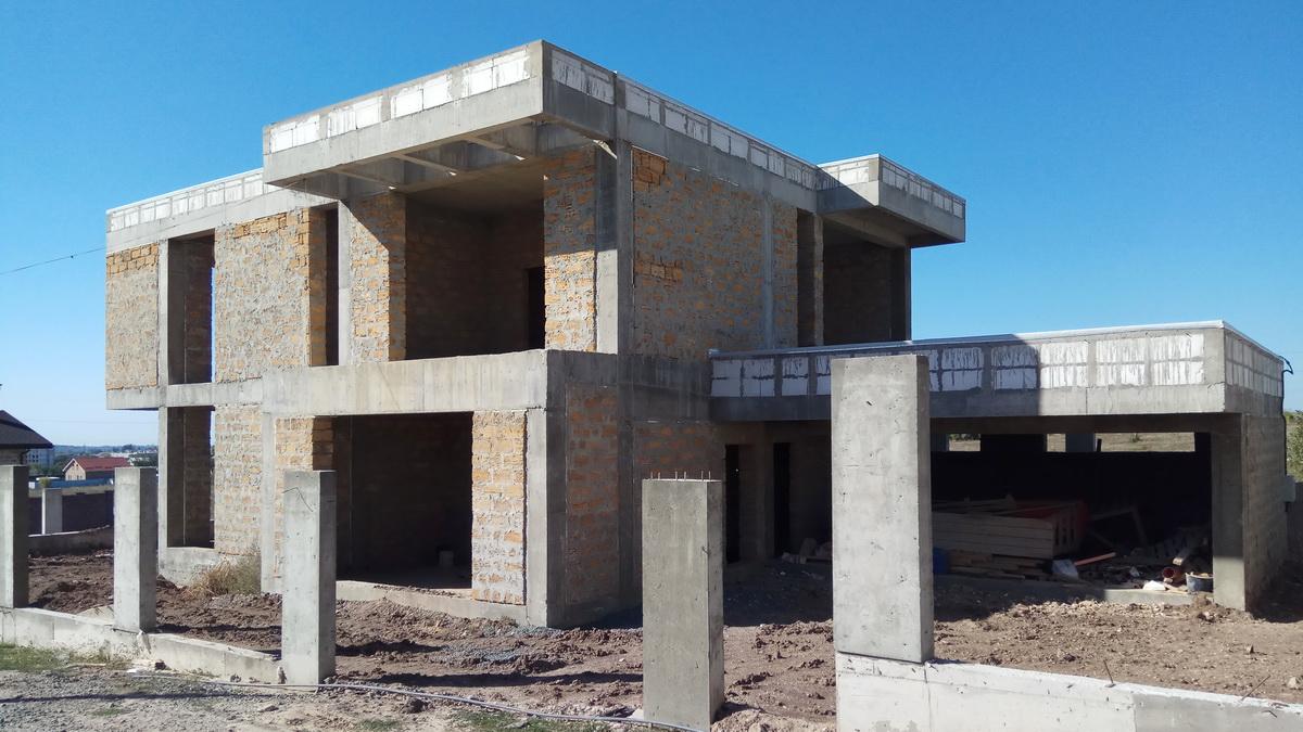 Строительство современного дома в Крыму